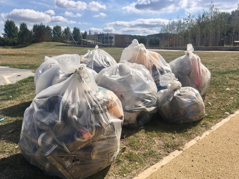 Cheney Row Park litter pick