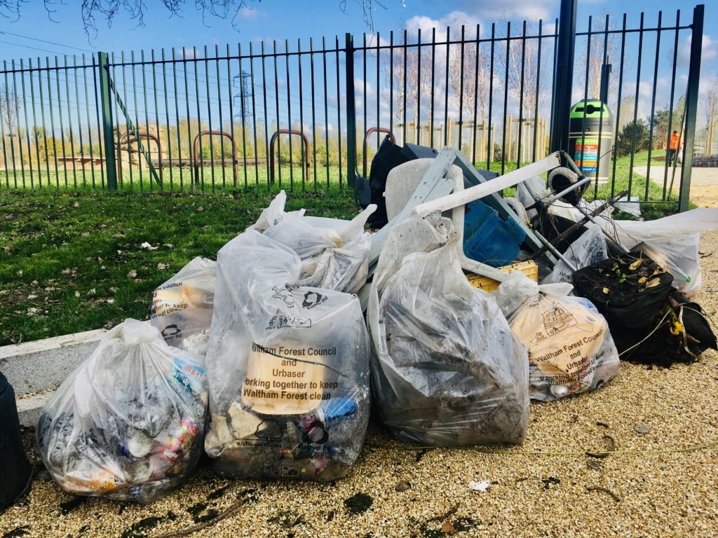 Cheney Row Park litter pick