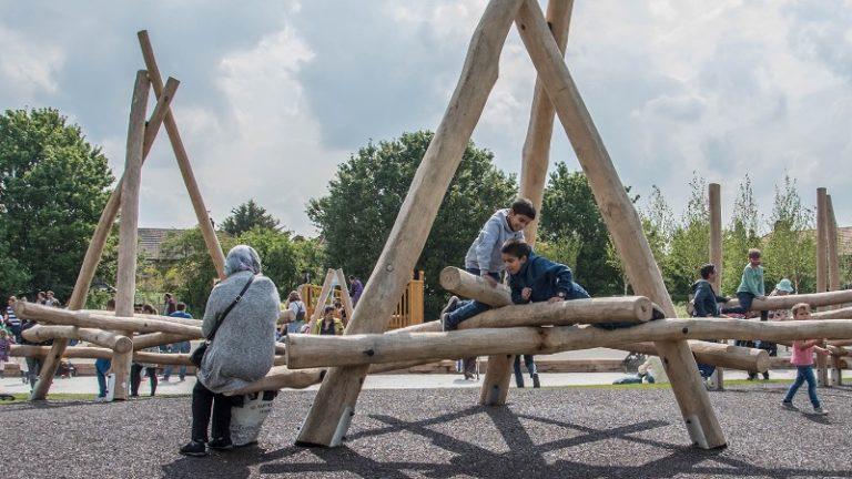 Cheney Row Park - Children's Climbing Frame